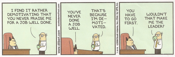 Dilbert On Motivation Matt Heller Performance Optimist
