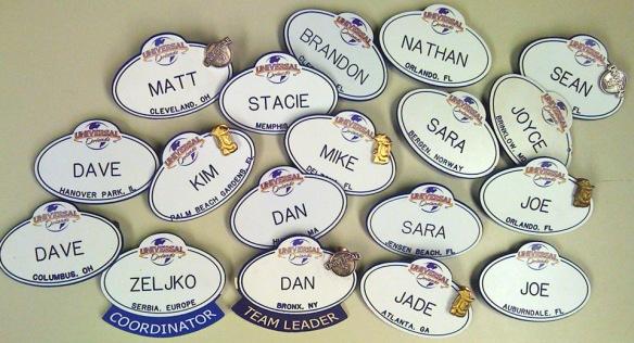 Name tags