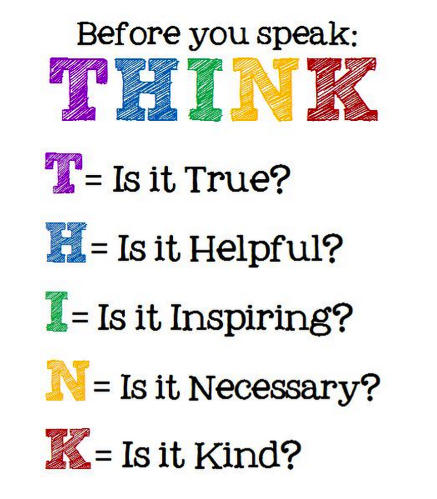 Think Before You Say Something Quotes: AIMS Communication Review – Part 3